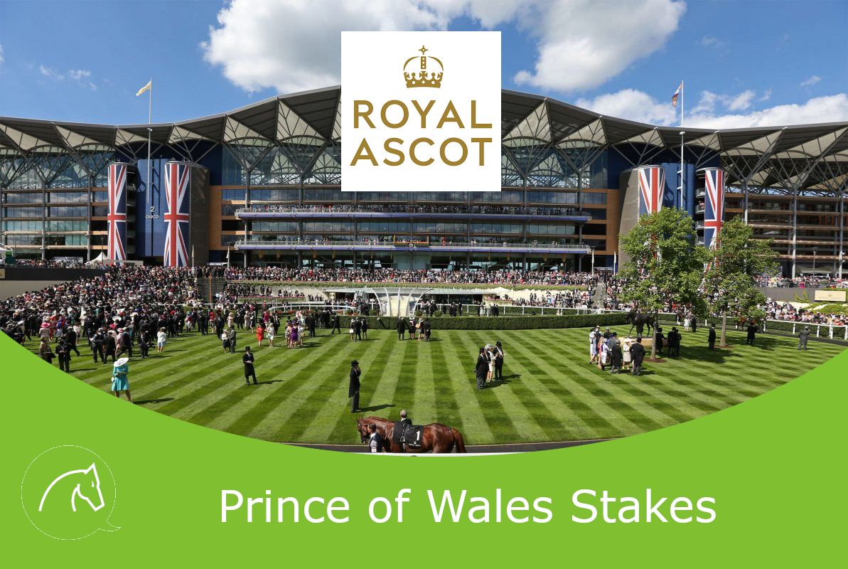 Crystal Ocean winning the 2019 Prince Of Wales' Stakes at Royal Ascot
